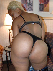 Blonde ebony with huge ass amateur pictures