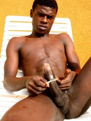 Gay big black cock