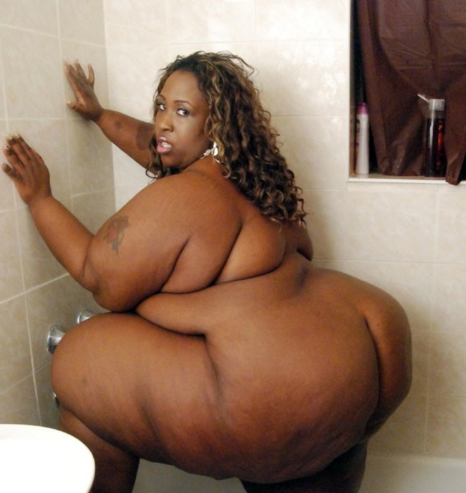 black girl naked Fat